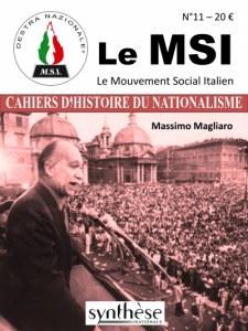 Les Cahiers d'Histoire du nationalisme n°11 – Le MSI – Mouvement social italien