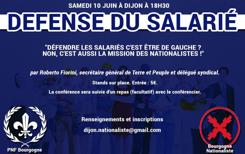 Dijon : Conférence de Roberto Fiorini