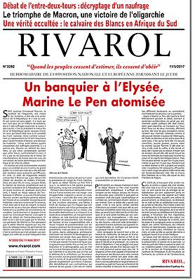 Un banquier à l'Élysée, Marine Le Pen atomisée