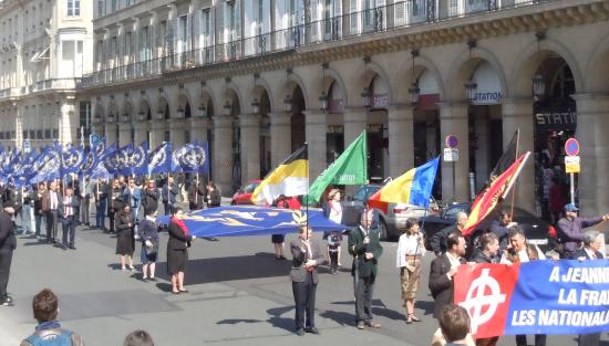 Compte-rendu du PNF Nice au Forum de l'Europe et à l'hommage à Jeanne d'Arc (reportage photo)