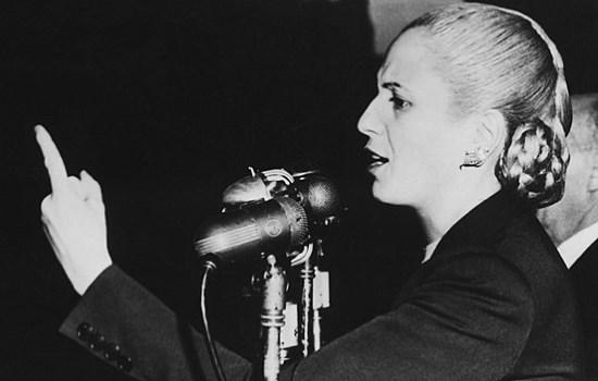 Evita Perón   7 mai 1919  –  27 juillet 1952