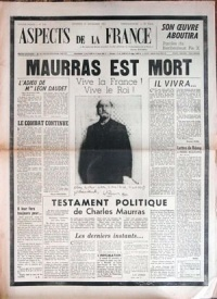 10 juin 1947 : 1er numéro d'Aspect de la France
