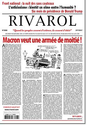 Macron veut une armée de moitié !
