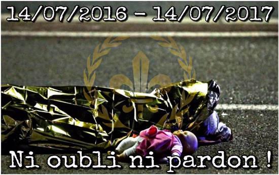 Un an après les attentats, les nationalistes toujours en première ligne !