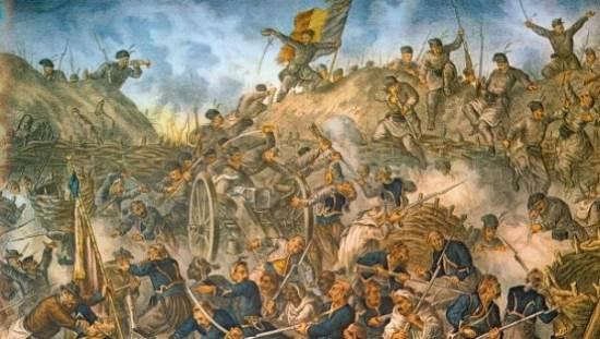 30 août 1877 : première victoire de l'armée roumaine qui reprend Grivita