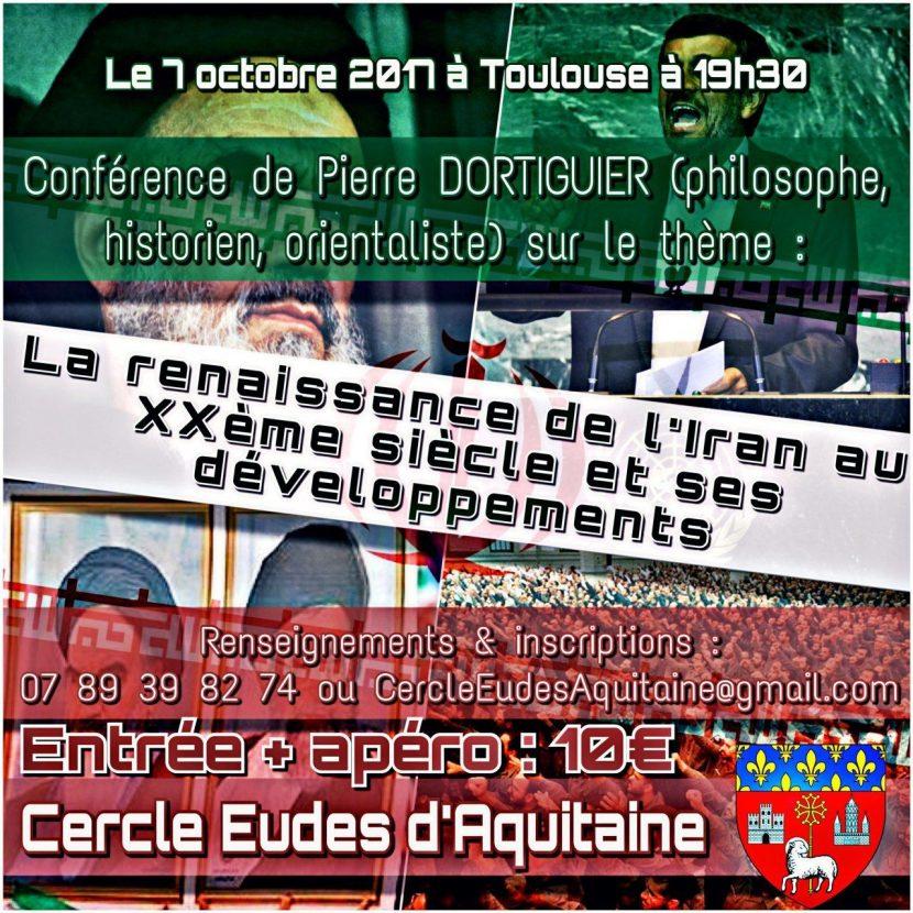 Toulouse : Conférence de Pierre Dortiguier