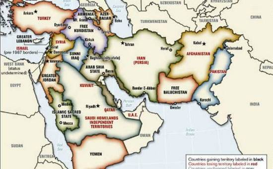 Elias Moutran – La recomposition géopolitique du Proche-Orient