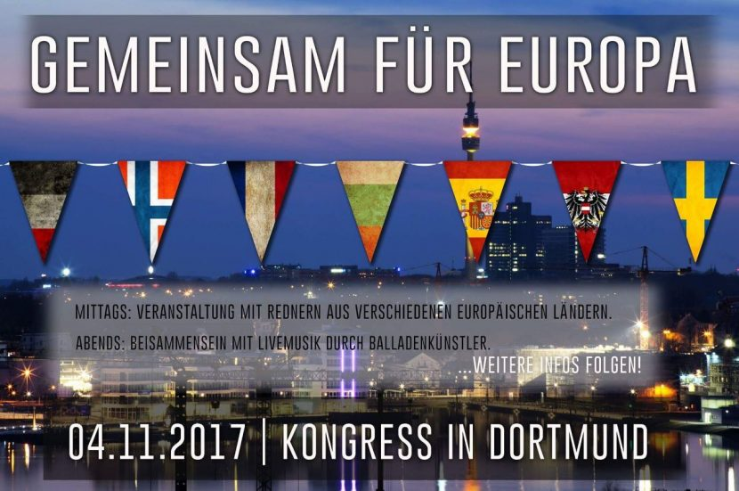 Dortmund : Congrès européen de Die Rechte (04/11/2017)