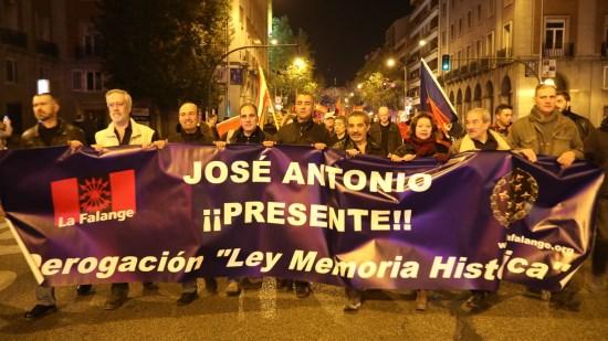 Délégation du PNF aux cérémonies du 20 Novembre à Madrid (photos + vidéos)