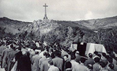 29 mars 1959 : translation de la dépouille de José Antonio à la vallée de Los Caidos