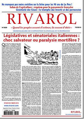 Législatives et sénatoriales italiennes : choc salvateur ou paralysie mortifère ?