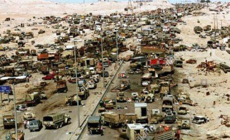 2 mars 1991 : L'armée américaine massacre 10 000 Irakiens sur l'autoroute 80