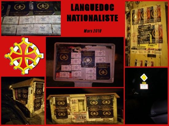 ACP de Languedoc Nationaliste dans les rues de Trèbes !