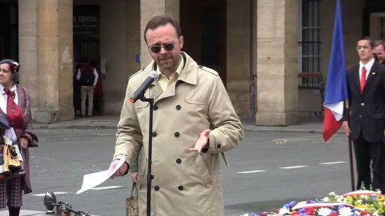 Allocution du mouvement belge Nation lors de l'hommage nationaliste à Jeanne d'Arc du 13 mai 2018 (vidéo)