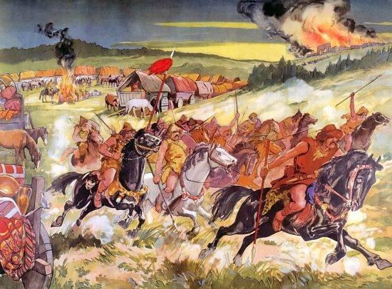 20 Juin 451 : Attila est défait aux Champs Catalauniques