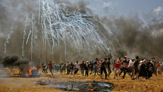 Massacre en Palestine