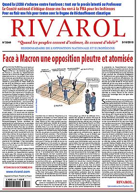 Face à Macron une opposition pleutre et atomisée