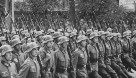 Les soldats allemands de la Seconde Guerre mondiale…