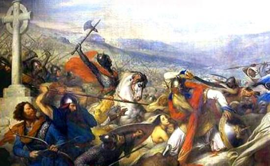 25 octobre 732 : Charles Martel arrête les arabes à Poitiers