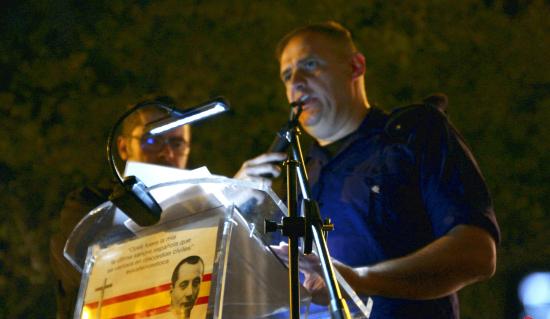 Discours d'Yvan Benedetti et reportage photo aux célébrations du «20 N» à Madrid