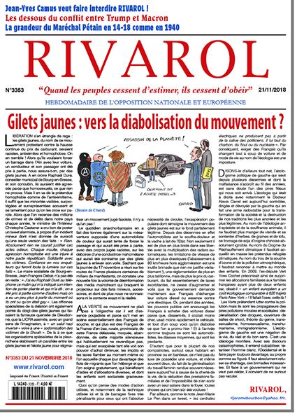 Gilets jaunes: vers la diabolisation du mouvement?