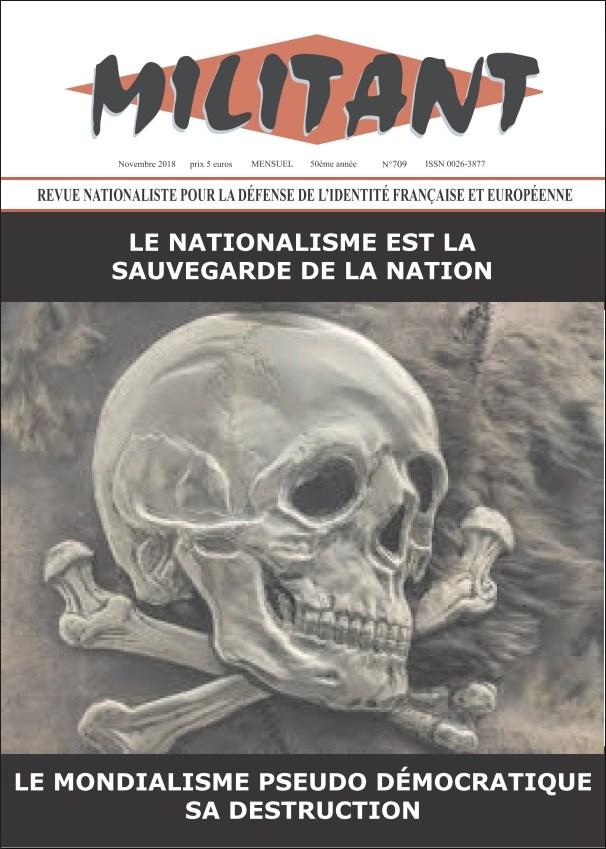 Le nationalisme n'est pas une «lèpre» mais la doctrine de la nation