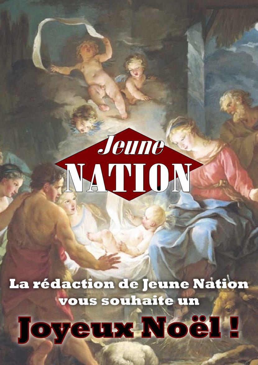 Jeune Nation souhaite à tous les Français un joyeux et saint Noël !