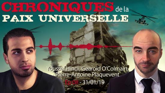 Youssef Hindi et Gearoid O'Colmain – Société ouverte et judaïsme politique (audio)