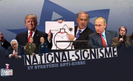 Youssef Hindi : National-sionisme et stratégie anti-russe (vidéo)