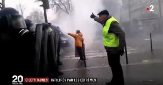 Enquête «Gilets Jaunes infiltrés par les extrêmes» – Les Nationalistes (vidéo)