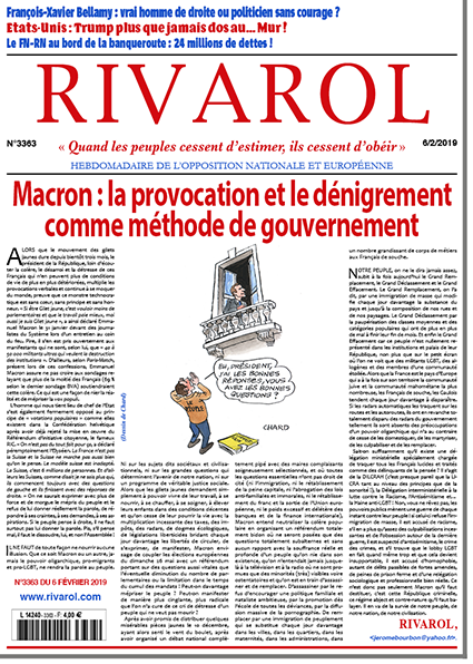 Macron: la provocation et le dénigrement comme méthode de gouvernement