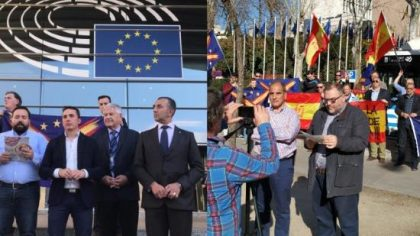La coalition nationaliste espagnole tient sa conférence à Bruxelles malgré l'interdiction du Parlement européen (vidéo + photos)