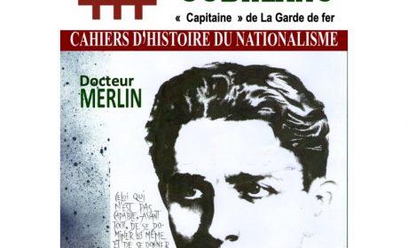 Nouveauté : Cahier d'Histoire du nationalisme n°16 – Corneliu Zelea Codreanu