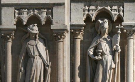 Notre-Dame de Paris: Ecclesia et Synagoga sauvées!