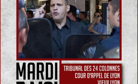 Yvan Benedetti face à la répression – 7 mai 2019 – Lyon