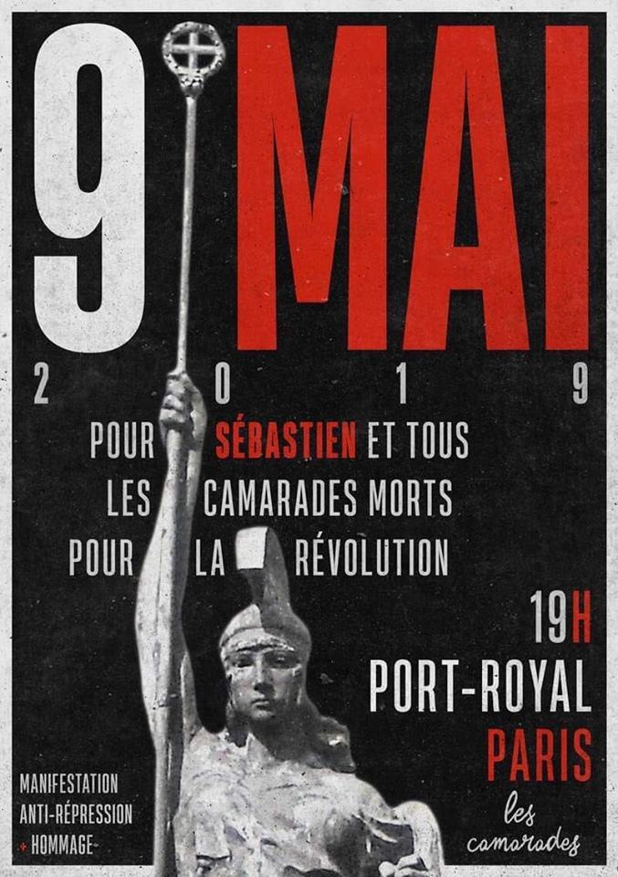Hommage à Sébastien Deyzieu – Paris – 9 mai 2019