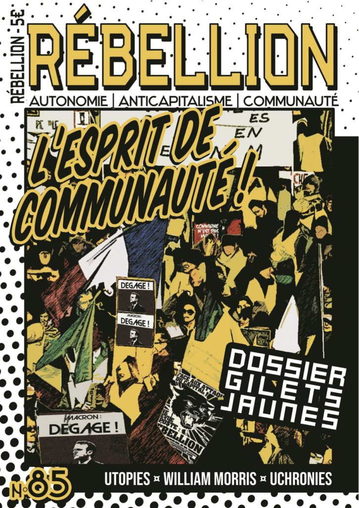 Nouveauté : Rébellion n°85 – Rêver n'est plus interdit!