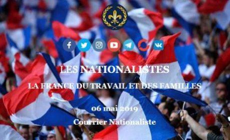 Lettre d'information « Courrier Nationaliste » – Abonnez-vous !