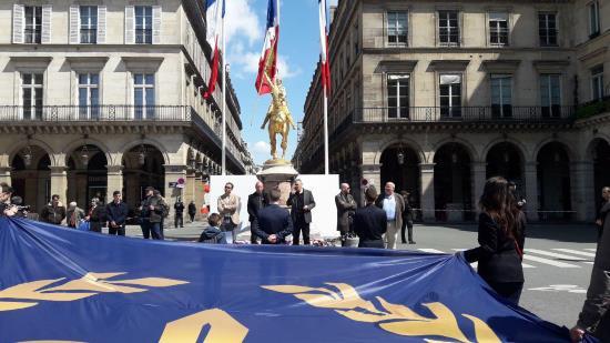 Harangue d'Yvan Benedetti aux nationalistes lors de l'hommage à Jeanne d'Arc 2019 (vidéo)