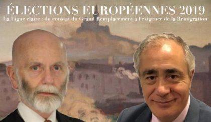 «La ligne claire»… de soumission au judaïsme politique, et les élections européennes 2019