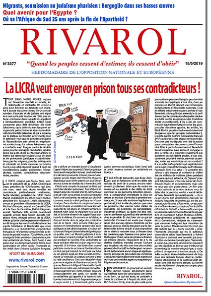 La LICRA veut envoyer en prison tous ses contradicteurs!