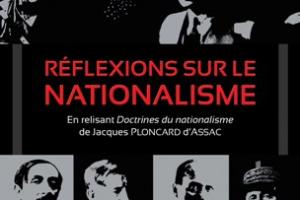 Nouveauté : Réflexions sur le nationalisme - Jean-Jacques Stormay (Préface d'Yvan Benedetti)