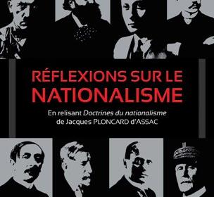 Nouveauté : Réflexions sur le nationalisme – Jean-Jacques Stormay (Préface d'Yvan Benedetti)