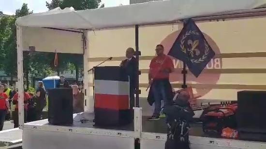Manifestation de Die Rechte à Dortmund – Les Nationalistes (vidéo)