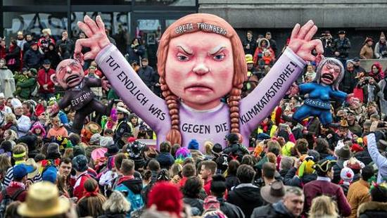Greta : L'idole des mondialistes – Nomos TV (vidéo)