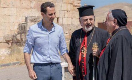 La reconnaissance de Bachar el-Assad envers les chrétiens syriens
