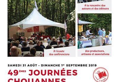 Conférence-dédicace d'Yvan Benedetti aux 49e Journées Chouannes 2019 – Chiré-En-Montreuil