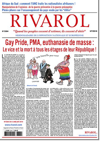 Gay Pride, PMA, euthanasie de masse:  Le vice et la mort à tous les étages de leur République!