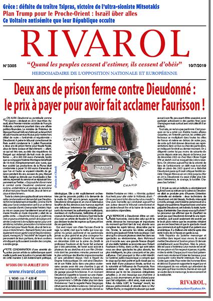 Deux ans de prison ferme contre Dieudonné: le prix à payer pour avoir fait acclamer Faurisson!