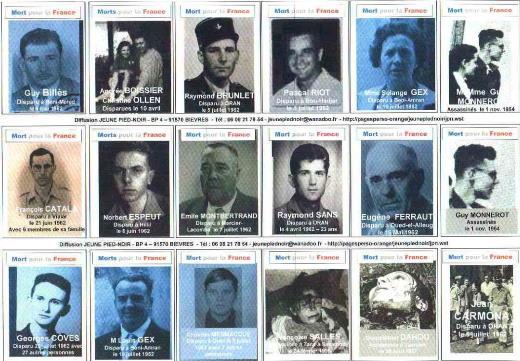 Les disparus d'Algérie par José Castano